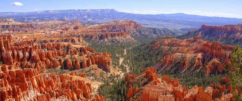 Udsigt over klipper - USA - Risskov Rejser