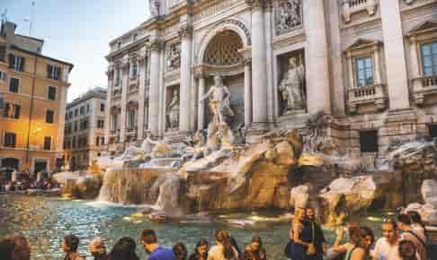 Trevifontænen i Rom - Risskov Rejser