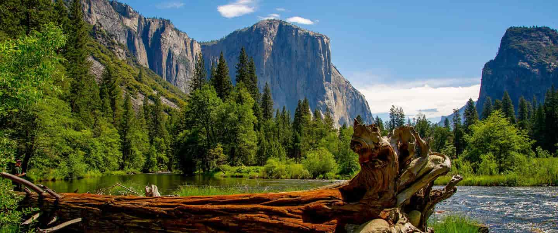 Yosemite National Park i Californien
