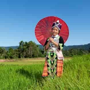 Portrait Hmong fra Laos - Risskov Rejser
