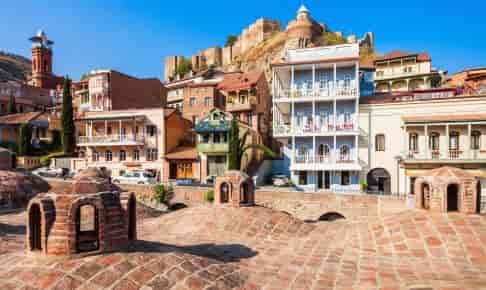 Tbilisis gamle bydel med Narikala-fæstningen - Risskov Rejser