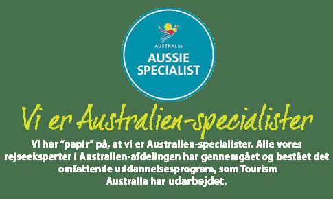 Vi er Australien-Specialister hos Risskov Rejser