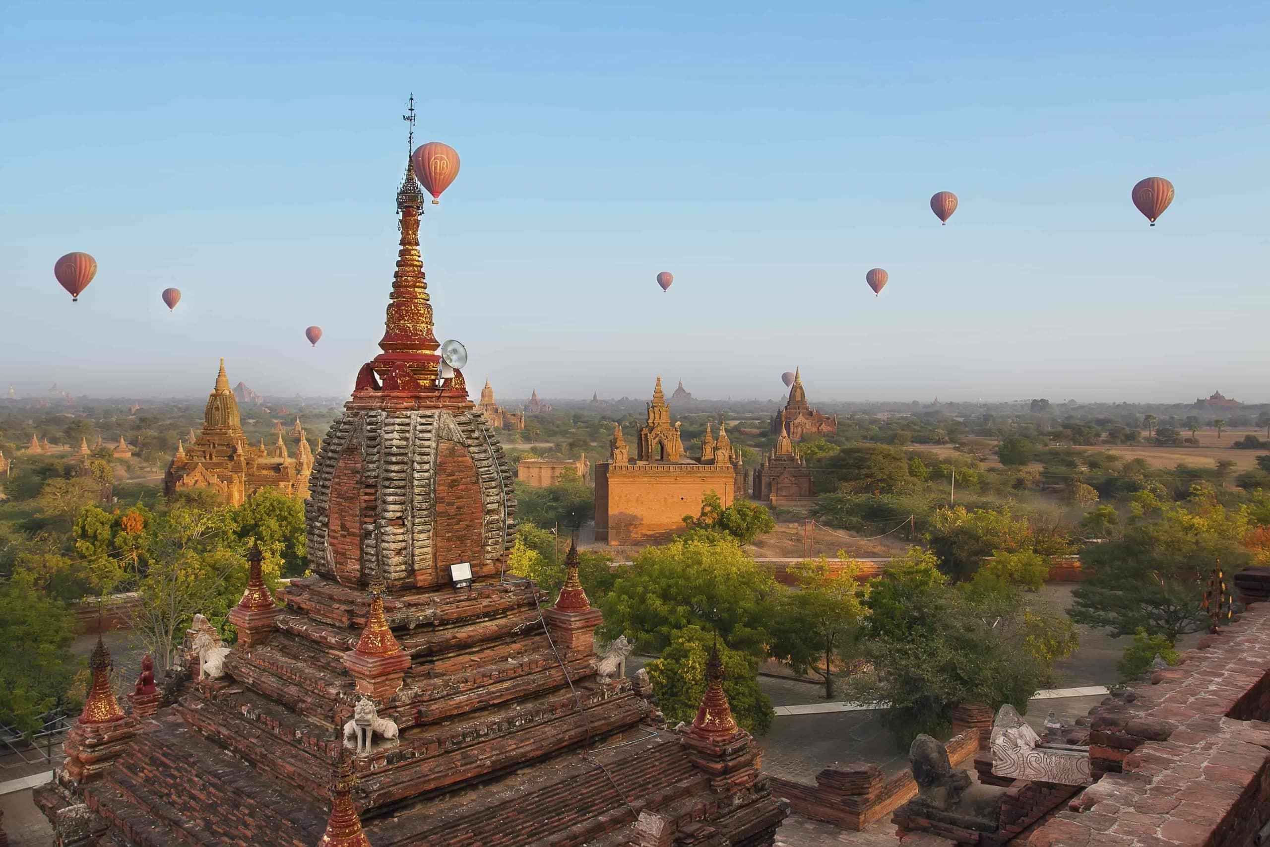 Bagan, Burma - Risskov Rejser