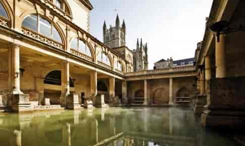 De romerske bade i Bath - Risskov Rejser