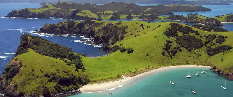 Bay of Islands er et af New Zealands smukkeste områder - Risskov Rejser