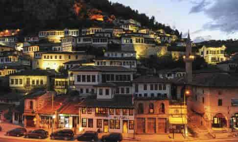 The old houses of Berat on Albania - Risskov Rejser