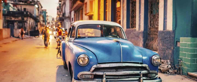 Oplev de gamle amerikaner-biler på rejser til Cuba med Risskov Travel Partner