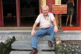 Rejseleder Bjarne Fristed