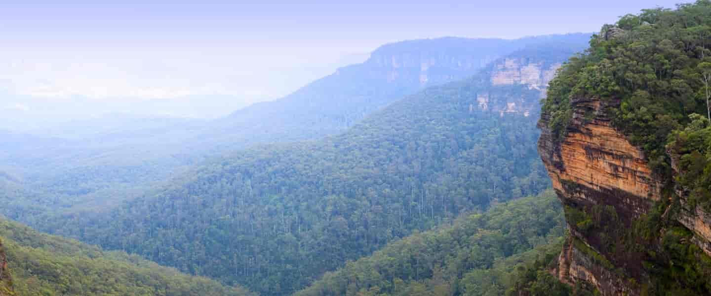 Blue Mountains Panorama - Risskov Rejser