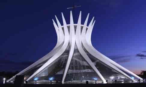 Flot arkitektur i Brasilien - Risskov Rejser