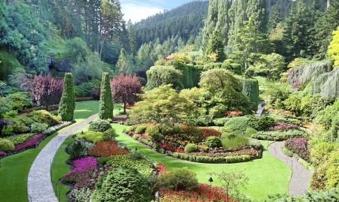 Butchart Gardens på Vancouver Island - Risskov Rejser