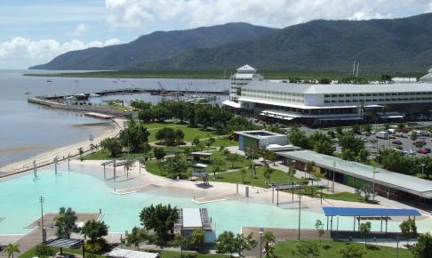 Afslapning ved Cairns Lagoon - Risskov Rejser