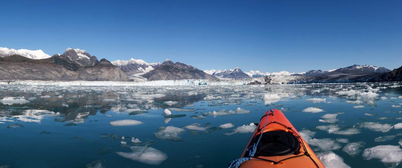 Columbia gletsheren kajak - Risskov Rejser