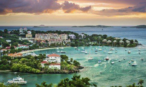 Udsigt over vandet - De Vestindiske Øer - Risskov Rejser
