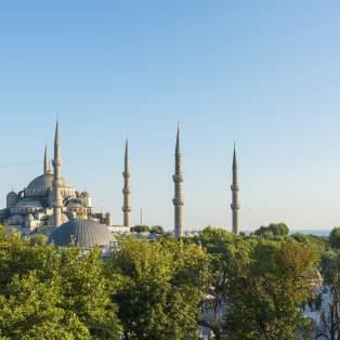 Den Blå Moske, Tyrkiet