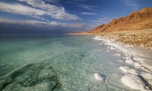 Dea Sea coast