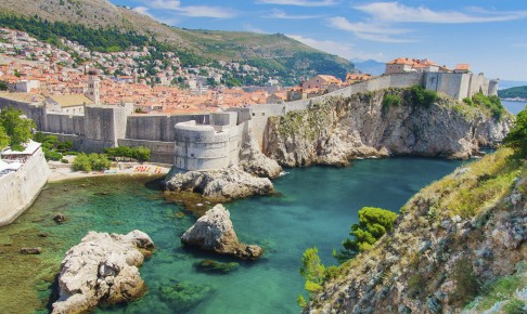 Middelalderbymuren i Dubrovnik - Risskov Rejser