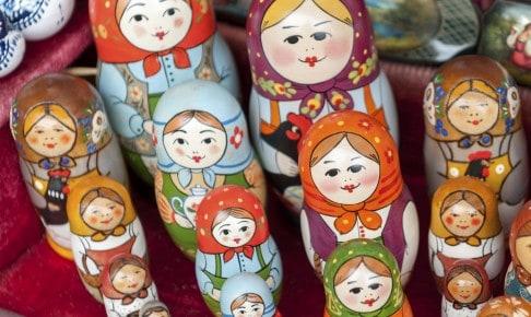 Russike Nesting dukker - Risskov Rejser