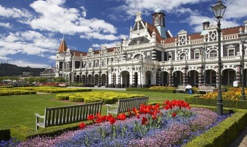 Husk at besøge Sydøens anden største by Dunedin, når du rejser til New Zealand