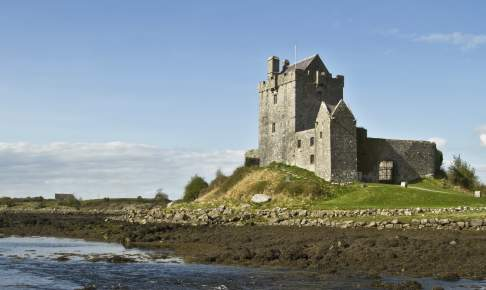Dunguaire Castle Galway, Irland.