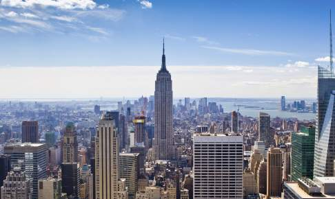 New York City and Empire State Building - Risskov Rejser