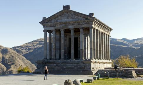 Det hellenistiske Garni-tempel, Armenien - Risskov Rejser