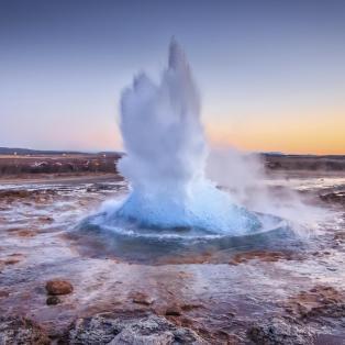 Gejser på Island - Risskov Rejser