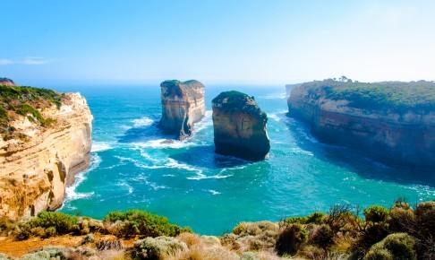 De tolv apostle af Great Ocean Road i Victoria, Australien - Risskov Rejser