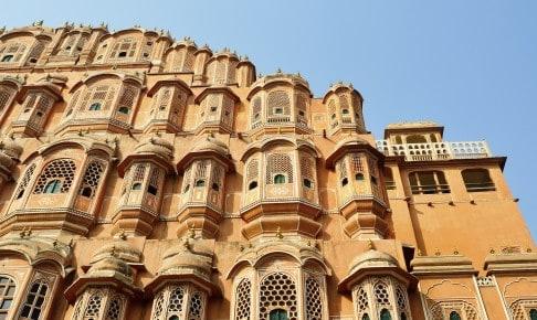 Oplev Hawa Mahal - Vindenes Palads i Jaipur, når du rejser til Indien
