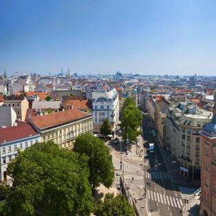 Panorama af Vienna - Risskov Rejser
