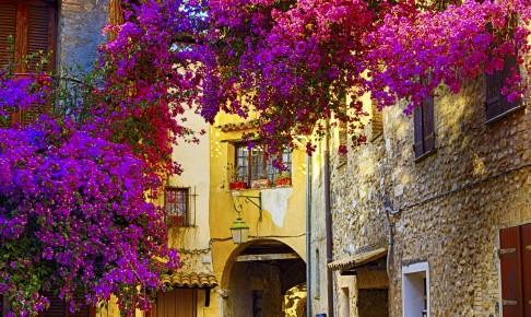 Hyggelig gade i Provence- Risskov Rejser