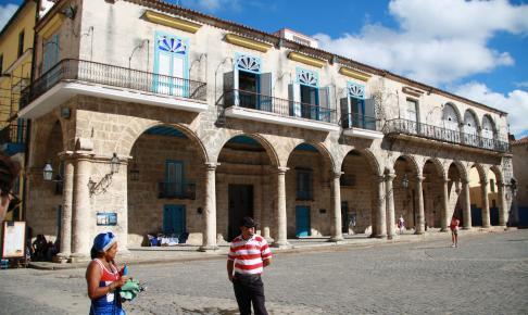 Habana Vieja - Havanas gamle bydel - Risskov Rejser