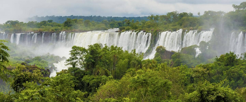 Iguassu vandfaldet Brasilien