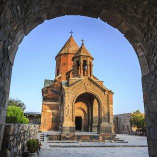 Khor Virap-kirken - Armenien - Risskov Rejser