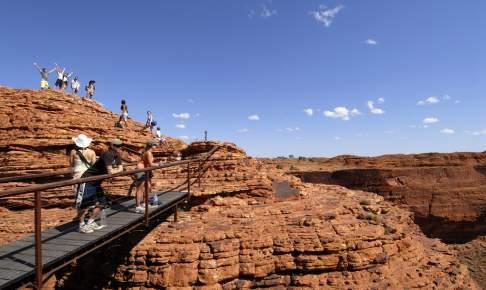 Kings Canyon i den røde ørken