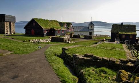 Kirkjubøur på Færøerne