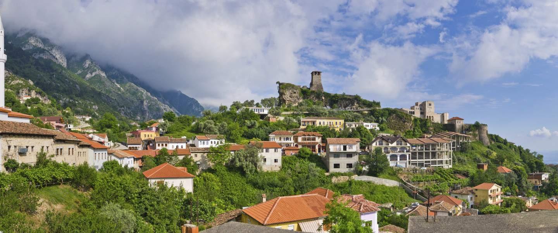 I Krujë ikke langt fra Tirana ligger Albaniens mest berømte fæstningsværk