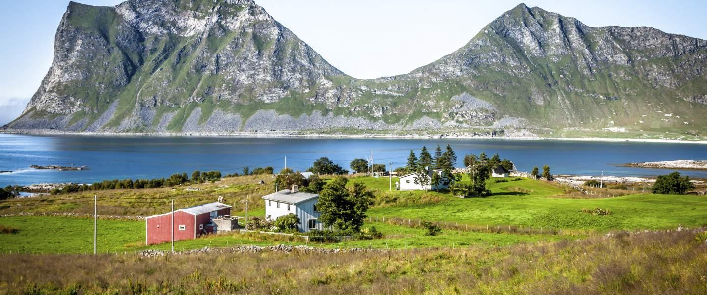 Smukt landskab af Norge - Risskov Rejser