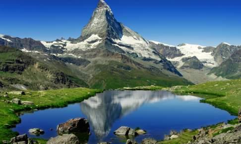 Udsigt over Matterhorn - Schweiz - Risskov Rejser