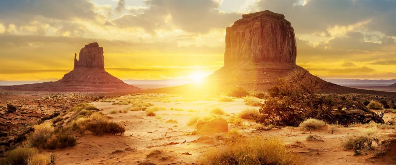 Monument Valley, i det vestlige USA