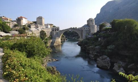 Broen Stari-Most, Bosnien-Hercegovinas mest berømte bro.