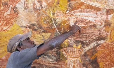 Klippemalerier i Arnhem Land - Risskov Rejser