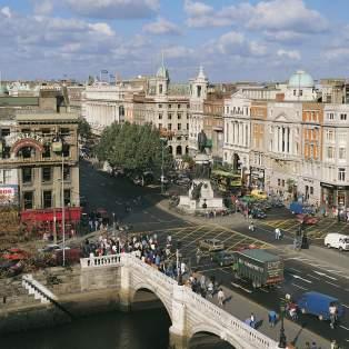 O'Connell Street, Dublin, Ireland - Risskov Rejser