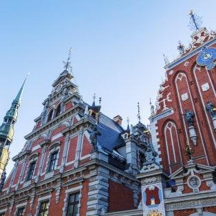 Sorthovedernes Hus fra 1344 - Riga - Risskov Rejser