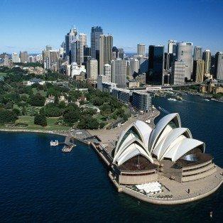 Operahuset Skyline i Australien - Risskov Rejser