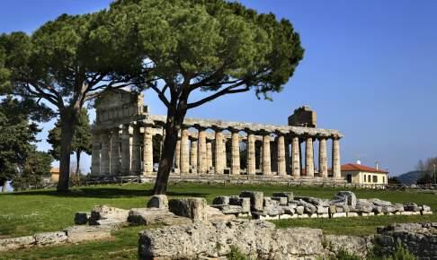 Paestum templer italien