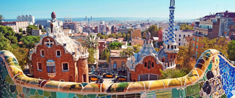 Park Guell, Barcelona - Spanien - Risskov Rejser