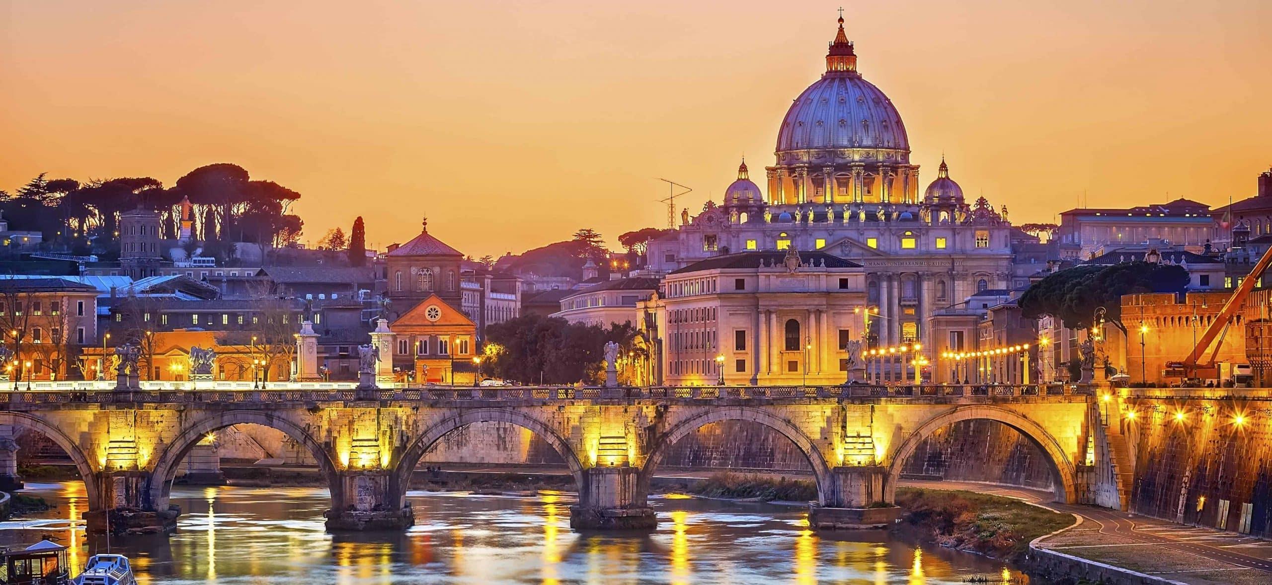 Oplev Peterskirken på rundrejse i Rom