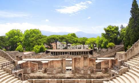 Pompejis ruiner