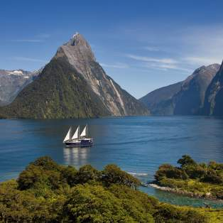 Fiordland National Park. Milford Sound, New Zealand